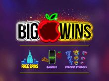 Красивая графика, большие выигрыши и удобный интерфейс в слоте Big Apple Wins